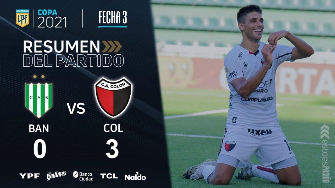 Copa De La Liga | Fecha 3 | resumen de Banfield - Colón