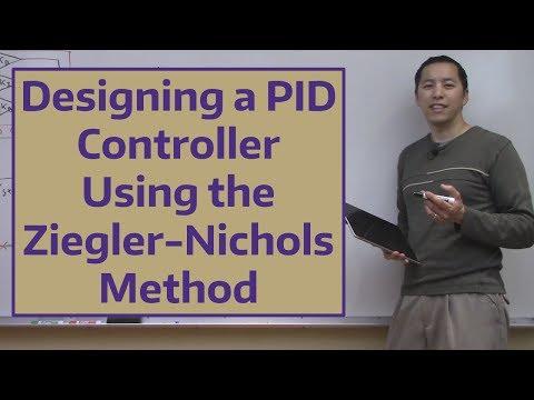 Designing A PID Controller Using The Ziegler-Nichols Method
