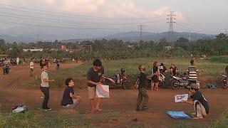 Mabar Dilapangan R3 Bogor...Surganya Main Layangan