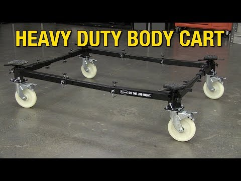 Easily Move Your Project Car Around The Shop Or Garage - Heavy Duty Body Cart From Eastwood!