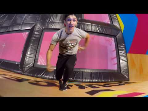 ONE DAY AT BOUNCE STOCKHOLM | AMAZING TRAMPOLIN PARK