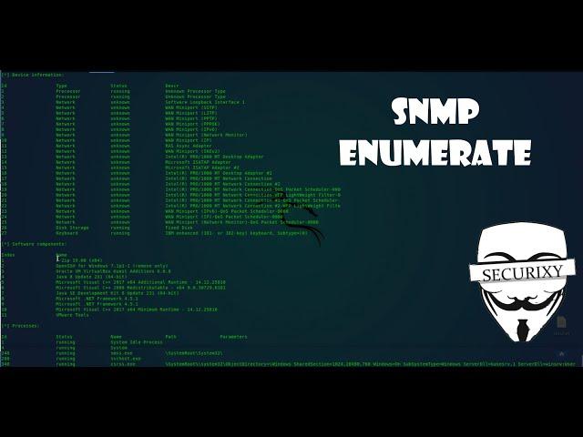 Эксплуатация уязвимости SNMP (port 161/UDP)