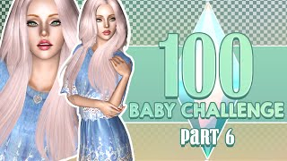 Let's Play The Sims 3: 100 Baby Challenge | Part 6 - Pink Haired Baby!