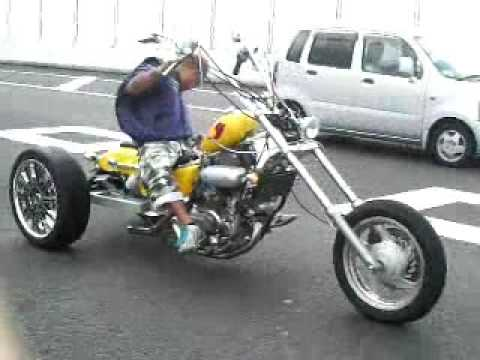 take chopper magna trike test run 2009 youtube. Black Bedroom Furniture Sets. Home Design Ideas