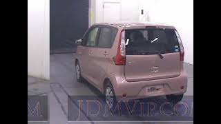 2013 Mitsubishi EK Active M B11W - Japanese Used Car For Sale Japan Auction Import