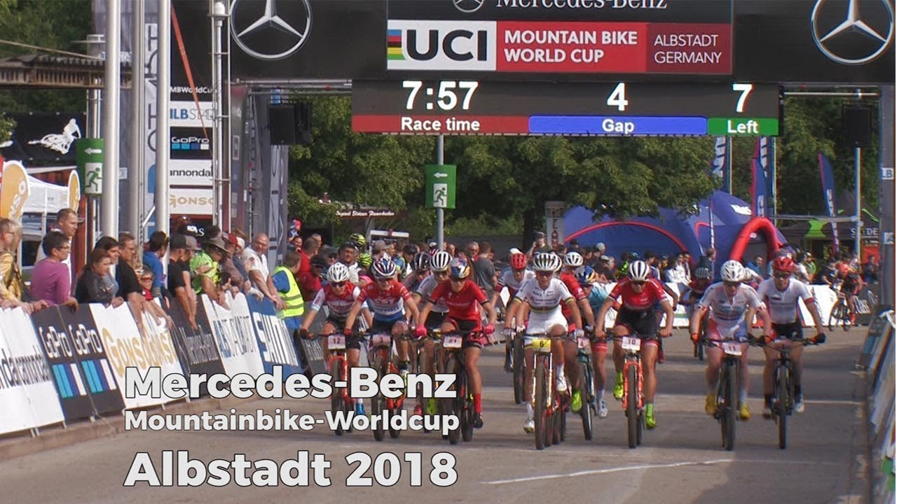 a0cd14f2f9f UCI Mountainbike Worldcup Albstadt 2018 - Short Track Race - YouTube
