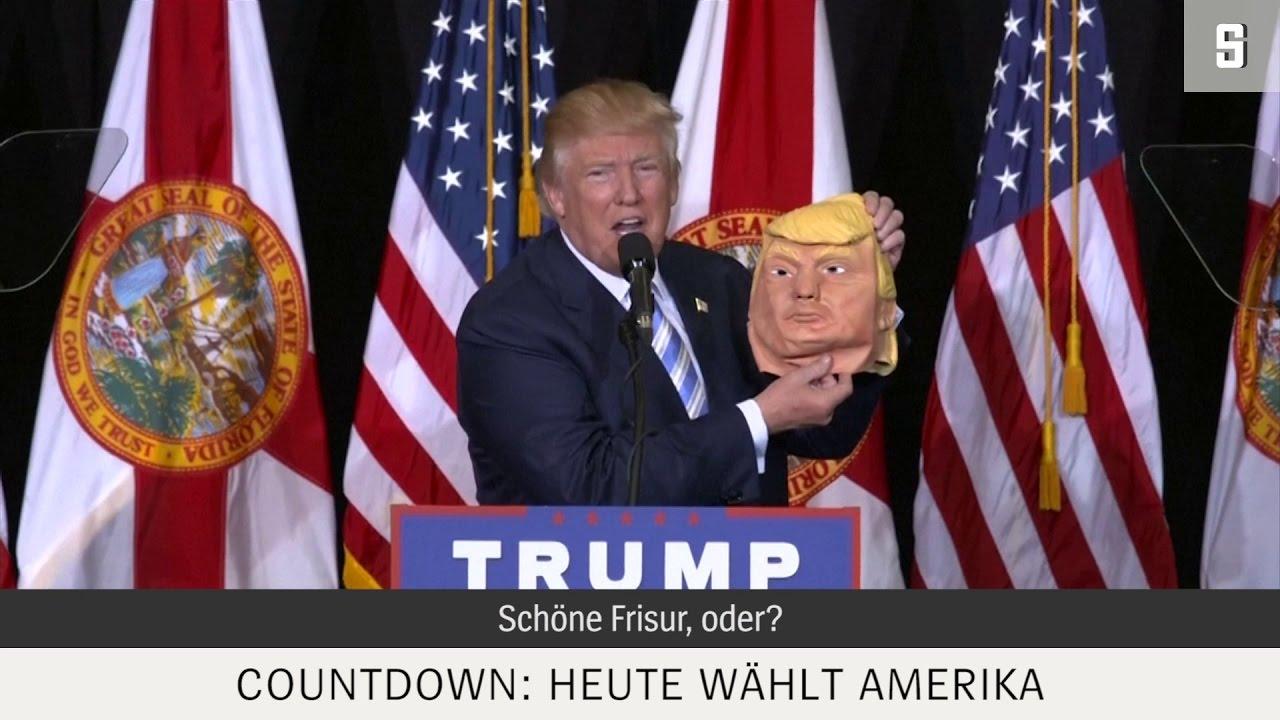 Countdown Zur Us Wahl Hillary Oder Doch Trump
