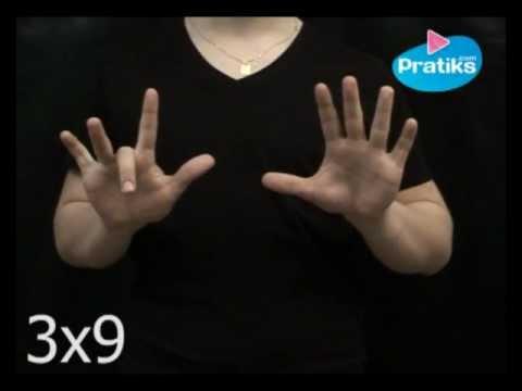 Astuce pour r ussir sa table de multiplication de 9 m for Apprendre ses tables de multiplication en jouant