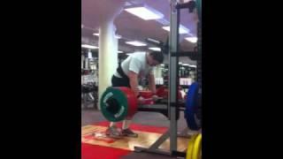 Dan Withrow 350lb hang clean