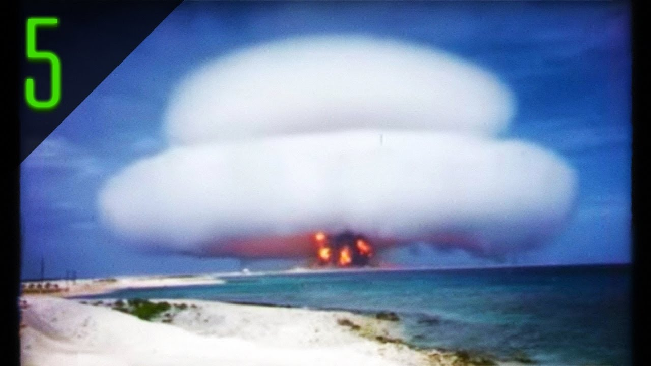5 Declassified Nuclear Explosions Caught on Film - YouTube