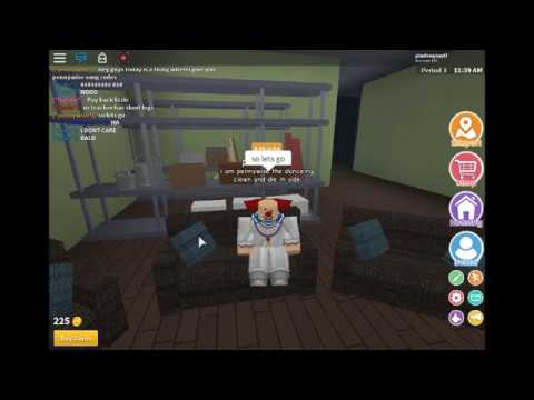 Peny Wise Song Id Roblox 1 Pennywise Code Roblox Youtube