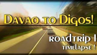 Roadtrip I: Davao City to Digos City: Bus Ride Timelapse