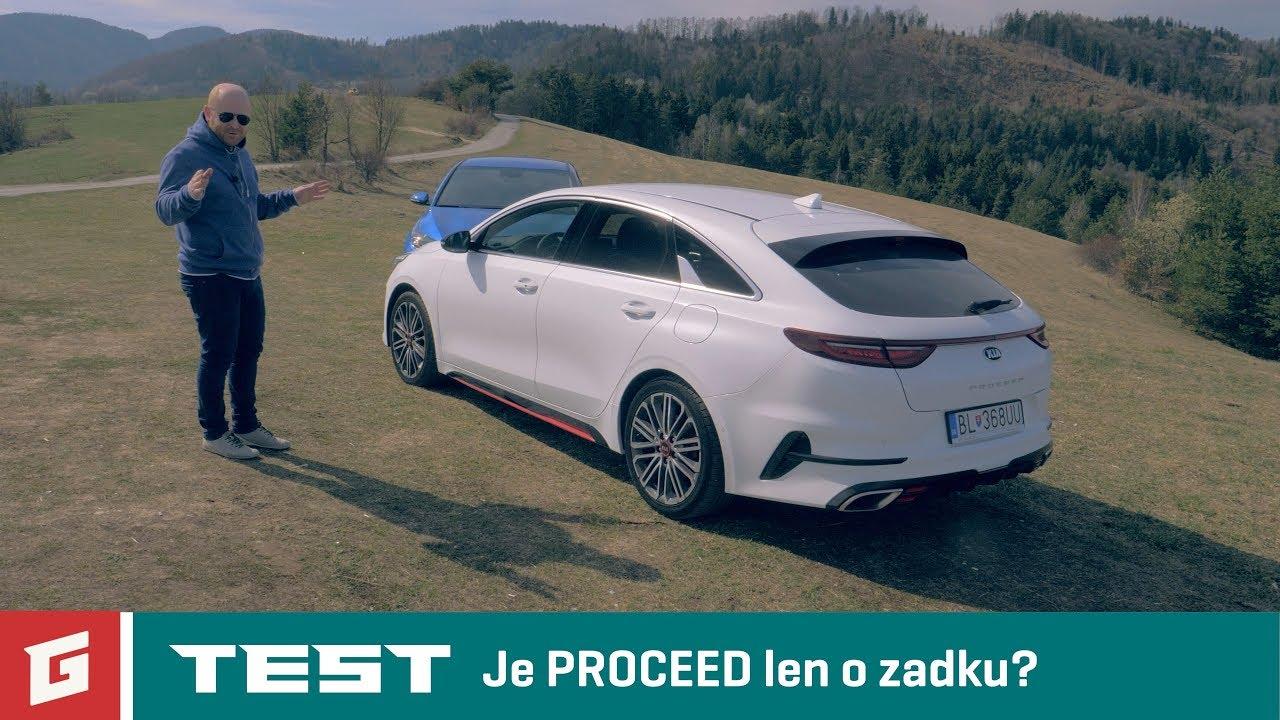 Kia CEED vs Kia PROCEED GT - 1,4 T-GDi vs 16. TGDi - GARAZ.TV - YouTube