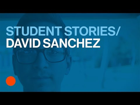 Meet Entertainment Design Student David Sanchez