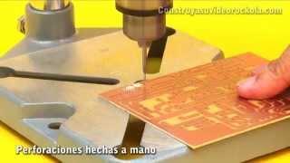 Perforación con CNC y fabricación de circuitos impresos
