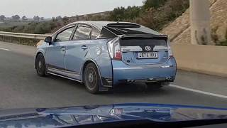 Spotted: Toyota Prius hardcore tuning!