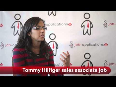 Tommy Hilfiger Sales Associate Job