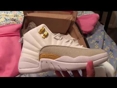 Jordan 12 ovo white DHgate  28 update - YouTube 3bc3022e2