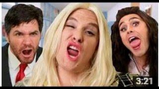 """Iggy Azalea ft. Charli XCX - """"Fancy"""" PARODY- Legendado PT-BR"""