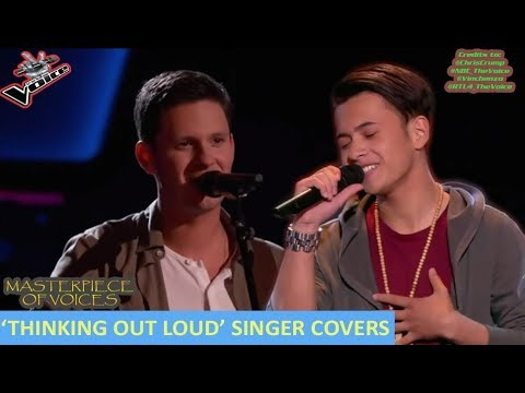 'THINKING OUT LOUD' SINGERS IN THE VOICE
