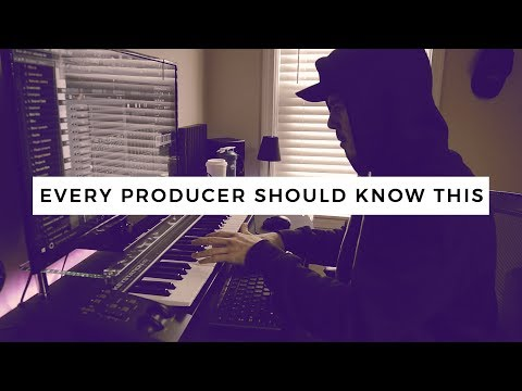 EVERY PRODUCER SHOULD KNOW THIS.   Making a Beat FL Studio