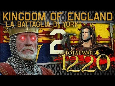 La Battaglia di York | Medieval Kingdoms 1220 - England #2 | Attila Mod ITA HD