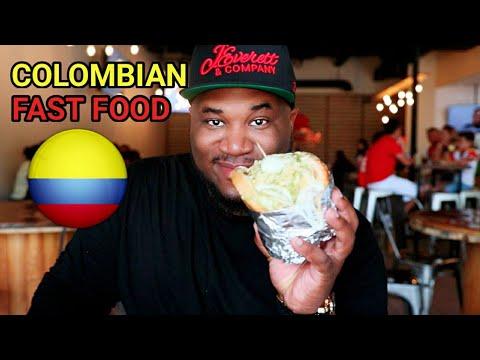 FOOD IS BAE: COLOMBIAN FAST FOOD