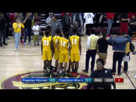 JPS Middle School Basketball Championship Game
