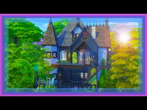 The Sims 4 Restaurant Speed Build - The Magic TeaPot
