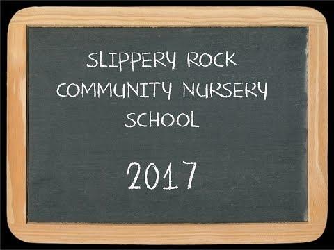 Slippery Rock Community Nursery School - 2017