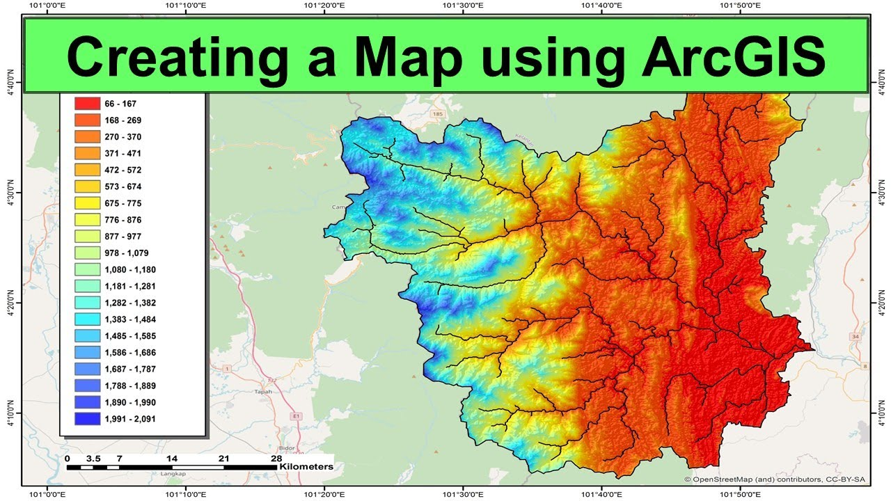 Creating a Map using ArcGIS (A Step-by-Step Guide)