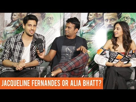 Sidharth Malhotra finally reveals if he is dating Jacqueline Fernandes or Alia Bhatt!