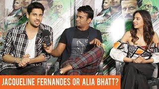 Sidharth Malhotra finally reveals if he is dating Jacqueline Fernandes or Alia Bhatt!