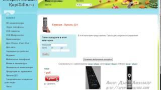 видео Заказать интернет-магазин webasyst shop-script 6. Дизайн и создание.