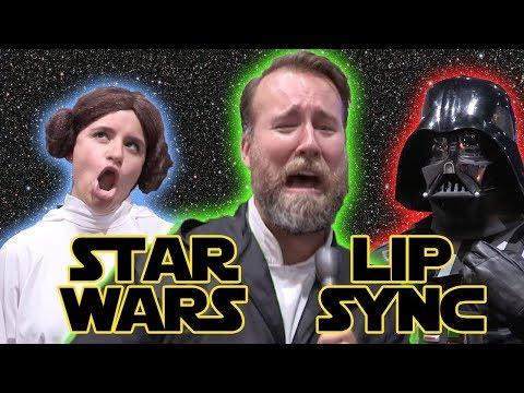 STAR WARS AUDIOBOOK LIP SYNC BATTLE! ft. Narrator Marc Thompson