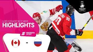 05.01.2020, u20 wm, halbfinale. der turnierfavorit aus kanada zieht ins finale ein. die dominanten gastgeber ließen russland keine chance: ihren souveränen a...