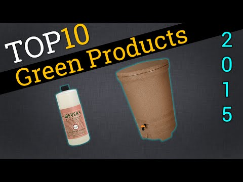 Top 10 Environmentally Friendly Products 2015