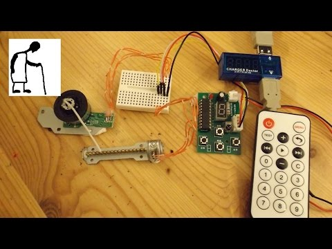 Stepper Motor Driver & Remote Control - YouTube on