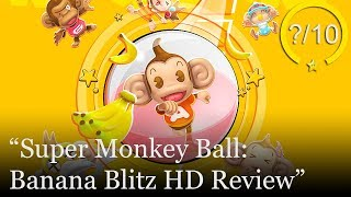 Super Monkey Ball: Banana Blitz HD Review [PS4, Switch, & Xbox One] (Video Game Video Review)