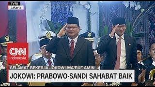 Jokowi: Prabowo-Sandi Sahabat Baik Saya