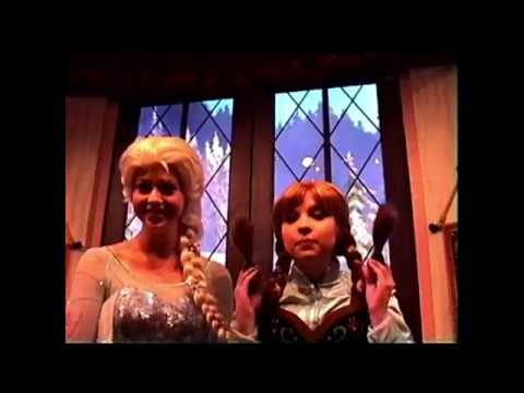 Anna & Elsa's Royal Welcome - Disney California Adventure - August - 2015