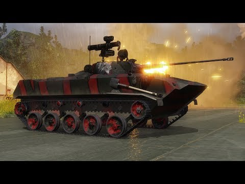 Armored Warfare нагиб