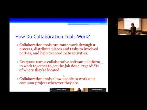 Communication Studies Lunch & Learn Series - Online Collaboration