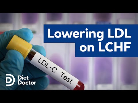 Lower your LDL cholesterol on a low carb or keto diet
