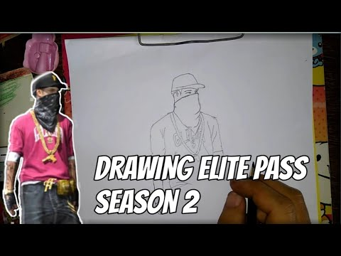 Menggambar Elite Pass Season 2 Youtube