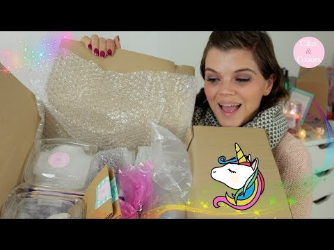 Unboxing | Unicorn Birthday Cupcakes | Cakes and Cookies World | + Verlosung