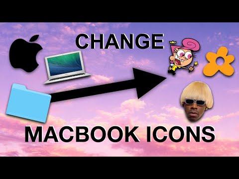 How To Change Macbook Folders 💖🌸 (Aesthetic Tutorial)