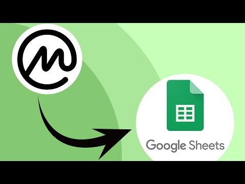 Import CoinMarketCap Data To Google Sheets