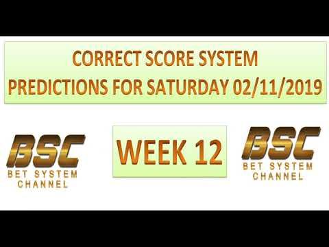 week-12-correct-score-system-predictions-for-saturday-02/11/19---football-soccer-tips