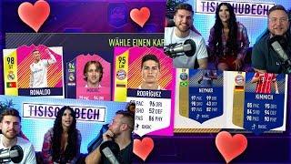 FIFA 18: Micaela Schäfer wählt die SCHÖNSTEN Spieler !!